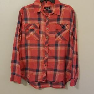 Nollie distressed flannel